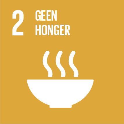 SDG 2 Geen honger