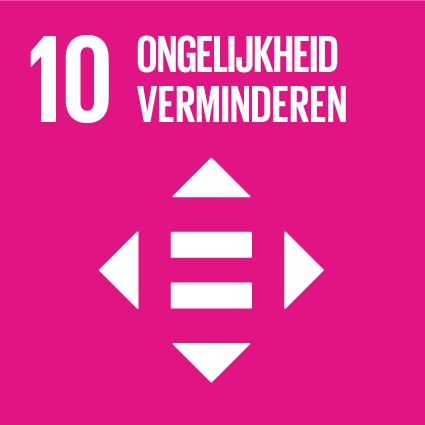 SDG 10 Ongelijkheid verminderen
