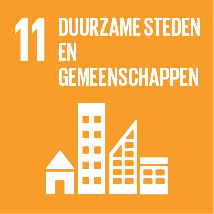 SDG 11 Duurzame steden en gemeenschappen