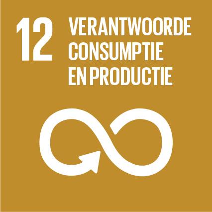 SDG 12 Verantwoorde consumptie en productie
